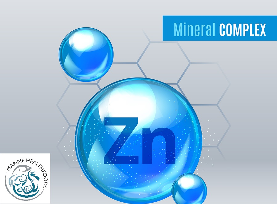 Zinc is the second most abundant trace mineral in the body, being present in all tissue and has a wide variety of functions including growth and human development, the healthy functioning of the immune system, and the maintenance of healthy skin, hair, nails and bone.